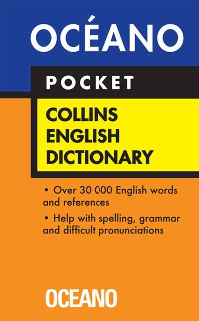 COLLINS ENGLISH DICTIONARY POCKET-PLASTICO