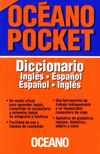 DICCIONARIO OCEANO POCKET INGLES-ESP