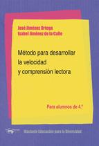 METODO PARA DESARROLLAR LA VELOCIDAD Y COMPRENSION LECTORA 4