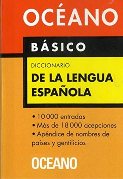 DICCIONARIO OCEANO LENGUA ESPAÑOLA BASICO