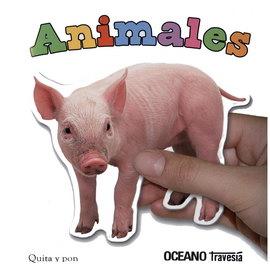 ANIMALES - QUITA Y PON