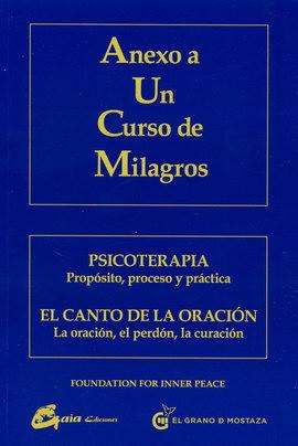 ANEXO A UN CURSO DE MILAGROS